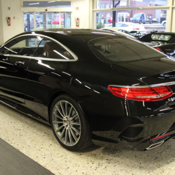 Mercedes-Benz S-Coupe из Германии (14492)