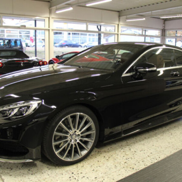 Mercedes-Benz S-Coupe из Германии (14493)