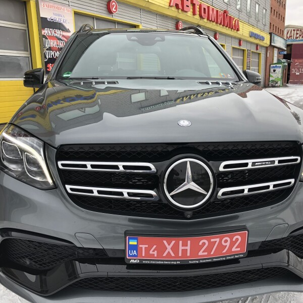 Mercedes-Benz GLS 63 из Германии (18102)