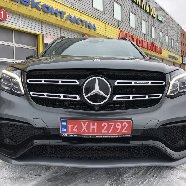 Mercedes-Benz GLS 63 из Германии (18117)