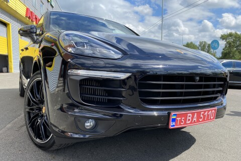 Porsche Cayenne S 4.2 TDI MATRIX BLACK PATION
