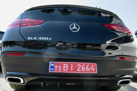 Mercedes-Benz GLE 400d AMG Coupe